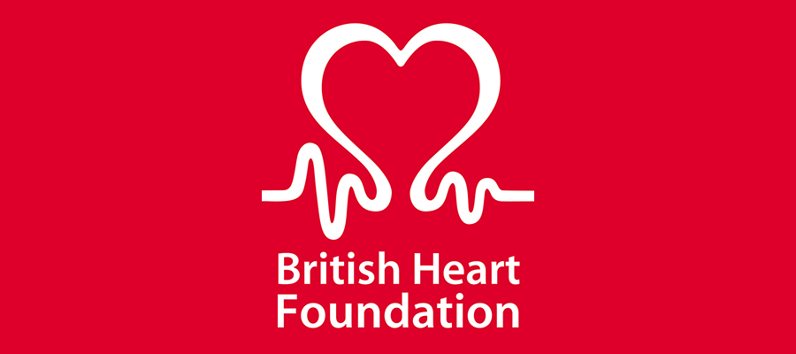 British Heart Foundation logo.