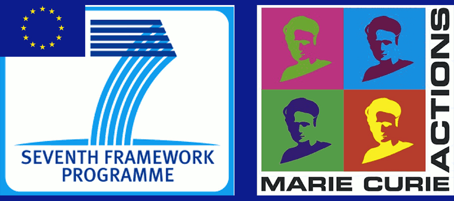European Union FP7, Marie Curie Actions logo.