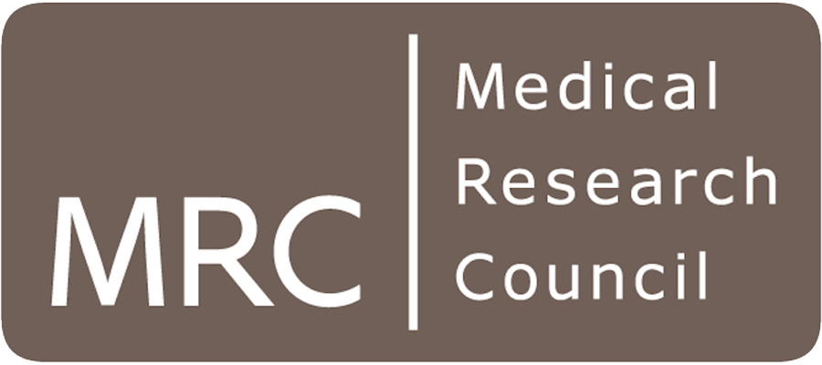 Medical Research Council logo.